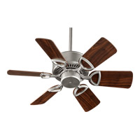 Quorum 43306-65 Estate 30 inch Satin Nickel Ceiling Fan