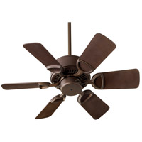 Quorum 43306-86 Estate 30 inch Oiled Bronze Ceiling Fan