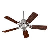 Quorum 43425 65 Estate 42 Inch Satin Nickel Ceiling Fan