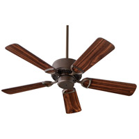 Quorum 43425-86 Estate 42 inch Imperial Ash with Oiled Bronze Blades Ceiling Fan