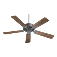 Quorum 43525-44 Estate 52 inch Toasted Sienna with Rosewood Blades Ceiling Fan