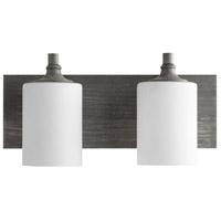 Quorum 5009-2-17 Celeste 2 Light 17 inch Zinc Vanity Light Wall Light