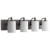 Celeste 4 Light 33 inch Zinc Vanity Light Wall Light