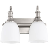 Quorum 5011-2-65 Richmond 2 Light 13 inch Satin Nickel Vanity Light Wall Light