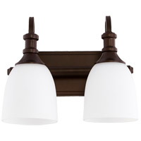 Quorum 5011-2-86 Richmond 2 Light 13 inch Oiled Bronze Vanity Light Wall Light