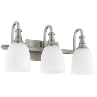 Quorum 5011-3-65 Richmond 3 Light 20 inch Satin Nickel Vanity Light Wall Light