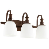 Quorum 5011-3-86 Richmond 3 Light 20 inch Oiled Bronze Vanity Light Wall Light
