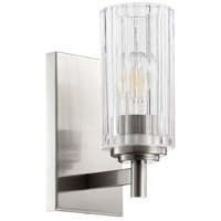 Quorum 502-1-65 Fort Worth 1 Light 5 inch Satin Nickel Wall Sconce Wall Light