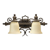 Fulton 2 Light 21 inch Classic Bronze Vanity Light Wall Light