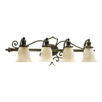 Quorum 5032-4-54 Fulton 4 Light 38 inch Classic Bronze Vanity Light Wall Light