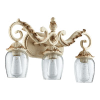 Quorum 5037-3-70 Florence 3 Light 20 inch Persian White Vanity Wall Light photo thumbnail