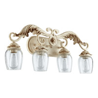Florence 4 Light 28 inch Persian White Vanity Wall Light