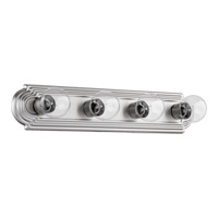 Quorum International Signature 4 Light Vanity Light in Satin Nickel 5049-4-65