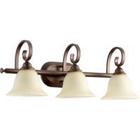 Quorum International Celesta 3 Light Vanity Light in Oiled Bronze 5053-3-86