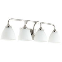 Enclave 4 Light 27 inch Polished Nickel Vanity Light Wall Light