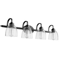 Quorum 5060-4-69 Reyes 4 Light 34 inch Noir Bath Vanity Wall Light