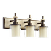 Concord 3 Light 24 inch Oiled Bronze Vanity Light Wall Light