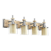 Concord 4 Light 33 inch Satin Nickel Vanity Light Wall Light