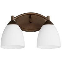 Quorum 5069-2-86 Barkley 2 Light 14 inch Oiled Bronze Vanity Light Wall Light