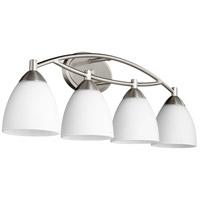 Quorum 5069-4-65 Barkley 4 Light 29 inch Satin Nickel Vanity Light Wall Light