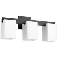 Quorum 5076-3-69 Modus 3 Light 20 inch Noir Vanity Light Wall Light