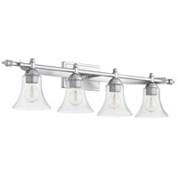 Quorum 5077-4-64 Aspen 4 Light 36 inch Classic Nickel Vanity Light Wall Light