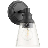 Quorum 509-1-69 Dunbar 1 Light 5 inch Noir Wall Sconce Wall Light
