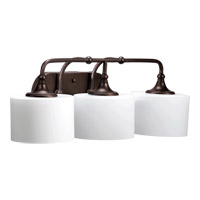 Quorum 5090-3-86 Rockwood 3 Light 26 inch Oiled Bronze Vanity Light Wall Light