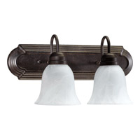 Quorum International Signature 2 Light Vanity Light in Toasted Sienna 5094-2-844