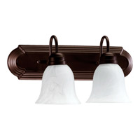 Quorum International Signature 2 Light Vanity Light in Oiled Bronze 5094-2-886