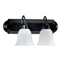 Quorum International Signature 2 Light Vanity Light in Old World 5094-2-895