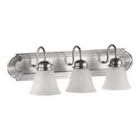Quorum International Signature 3 Light Vanity Light in Satin Nickel 5094-3-165
