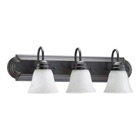 Quorum International Signature 3 Light Vanity Light in Old World 5094-3-195