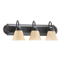 Quorum International Signature 3 Light Vanity Light in Old World 5094-3-395