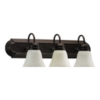 Quorum International Signature 3 Light Vanity Light in Oiled Bronze 5094-3-686