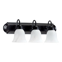 Quorum International Signature 3 Light Vanity Light in Old World 5094-3-895