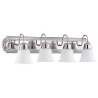 Quorum 5094-4-62 Signature 4 Light 30 inch Polished Nickel Vanity Light Wall Light
