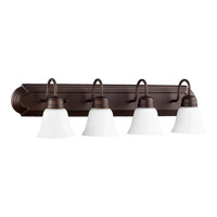 Quorum 5094-4-86 Signature 4 Light 30 inch Oiled Bronze Vanity Wall Light