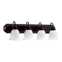 Quorum International Signature 4 Light Vanity Light in Oiled Bronze 5094-4-886