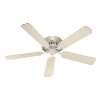 Quorum International Medallion Ceiling Fan in Antique White 51525-67