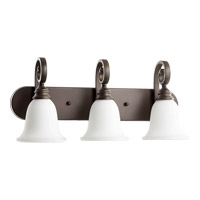 Quorum 5154-3-186 Bryant 3 Light 23 inch Oiled Bronze Vanity Wall Light