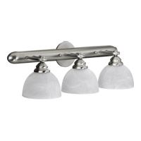 Quorum 5162-3-165 Hemisphere 3 Light 24 inch Satin Nickel Vanity Light Wall Light