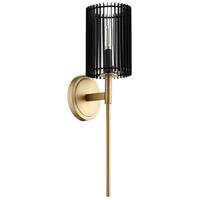 Quorum 517-80 Finura 1 Light 5 inch Aged Brass Wall Sconce Wall Light