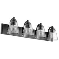 Quorum 518-4-69 Signature 4 Light 30 inch Noir Bath Vanity Wall Light