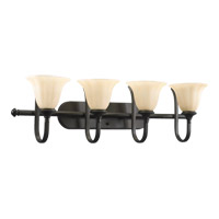 Quorum 5194-4-86 Randolph 4 Light 36 inch Oiled Bronze Vanity Light Wall Light