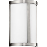 Quorum 5200-65 Omega 2 Light 8 inch Satin Nickel Wall Sconce Wall Light