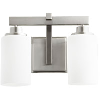 Lancaster 2 Light 13 inch Satin Nickel Vanity Light Wall Light