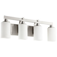 Lancaster 4 Light 28 inch Satin Nickel Vanity Light Wall Light