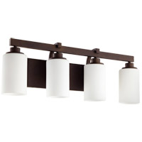 Lancaster 4 Light 28 inch Oiled Bronze Vanity Light Wall Light