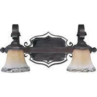 Quorum International Delphi 2 Light Vanity Light in Coffee 5221-2-13